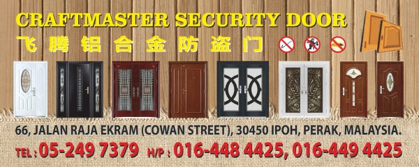 Add a Photo. Company name. CRAFTMASTER SECURITY DOOR. Address  sc 1 st  BusinessList.my & CRAFTMASTER SECURITY DOOR (Ipoh Malaysia)
